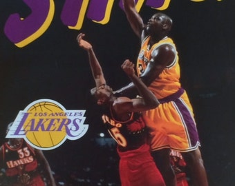 Shaquille O'Neal Shaq Lakers poster 16 x 20