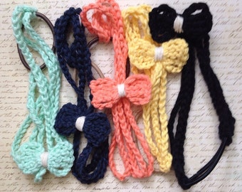 bow cloth headband, bow, kid hairband, mommy and me, hair accessories, braided headband, cloth headband, stretchy headband, women's headband