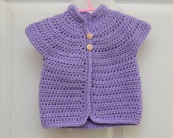 Crochet Baby Cardigan, Baby cardigan, Crochet infant cardigan, Baby Sweater