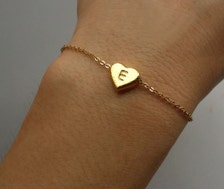 Personalized The Ones I Love Bracelet - Gold Love Bracelet Personalized