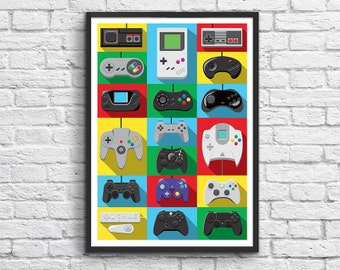 Poster - Legendary Controllers
