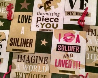 Military Home Front Girl Quilt