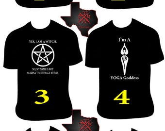 Wiccan T-Shirts Assorted Designs 2