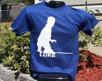 Luke Skywalker Silhouette Tshirt.