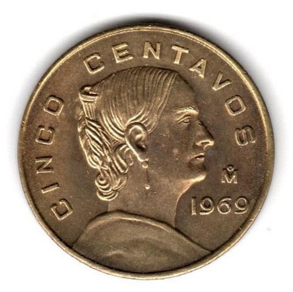 1969 M 5 CENTAVOS