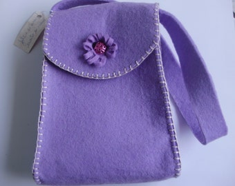 Bag of wool felt, handmade, hand-stitched, convenient and comfortable, fashion and trends, unique pattern
