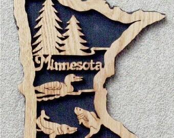 Minnesota State Plaque