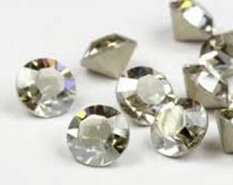 SWAROVSKI 1028 - SS29 Chaton - Crystal SIlver Shade - Pack 24