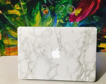 Marble MacBook Sticker Decal - Made for MacBook Air, MacBook Pro, MacBook Pro Retina Laptops. Select your size from any of our listings.