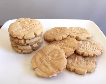 Brown Sugar Shortbread Cookies - Shortbread - Shortbread Cookies - 1 dozen