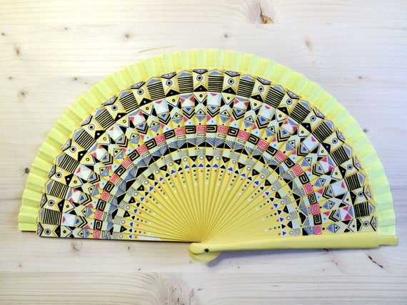 Hand Painted Spanish Hand Fan