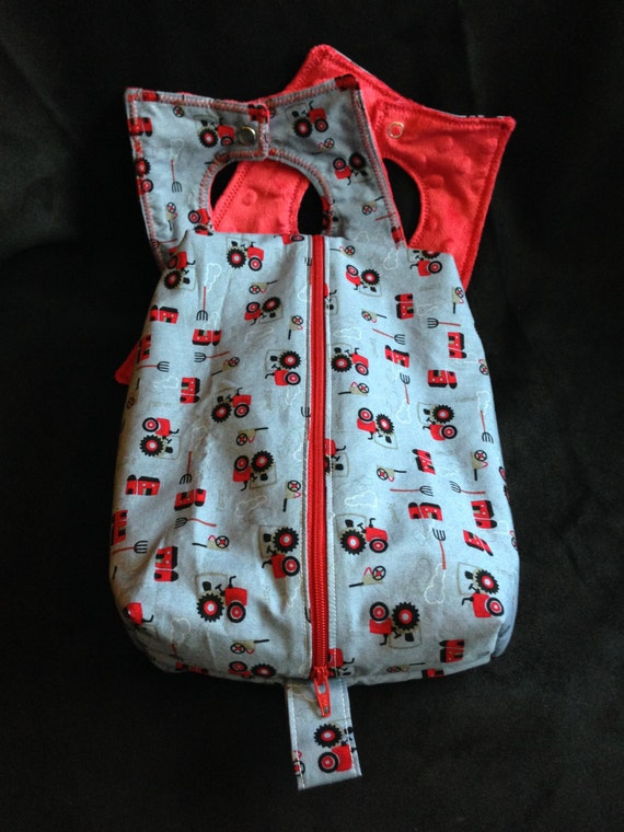 diaper and wipe clutch with two baby bibs baby by threadsonmylegs