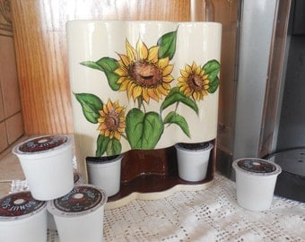 Sunflower K-cup Holder