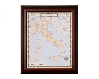 Italian Traveler Map
