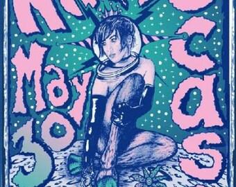 Neko Case 2009 Denver Concert Poster Silkscreen Grealish Original