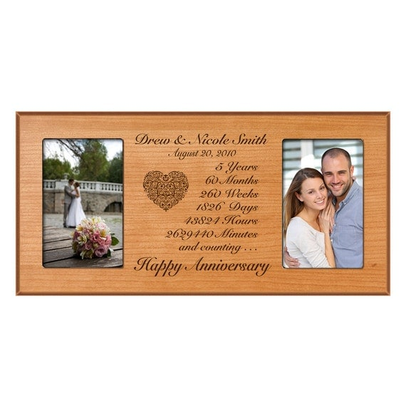 5th Wedding Anniversary Gift Ideas For Him : Personalized 5th anniversary gift for him,Fifth anniversary gift for ...