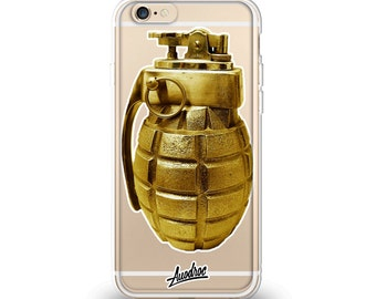 iPhone Case Gold Grenade