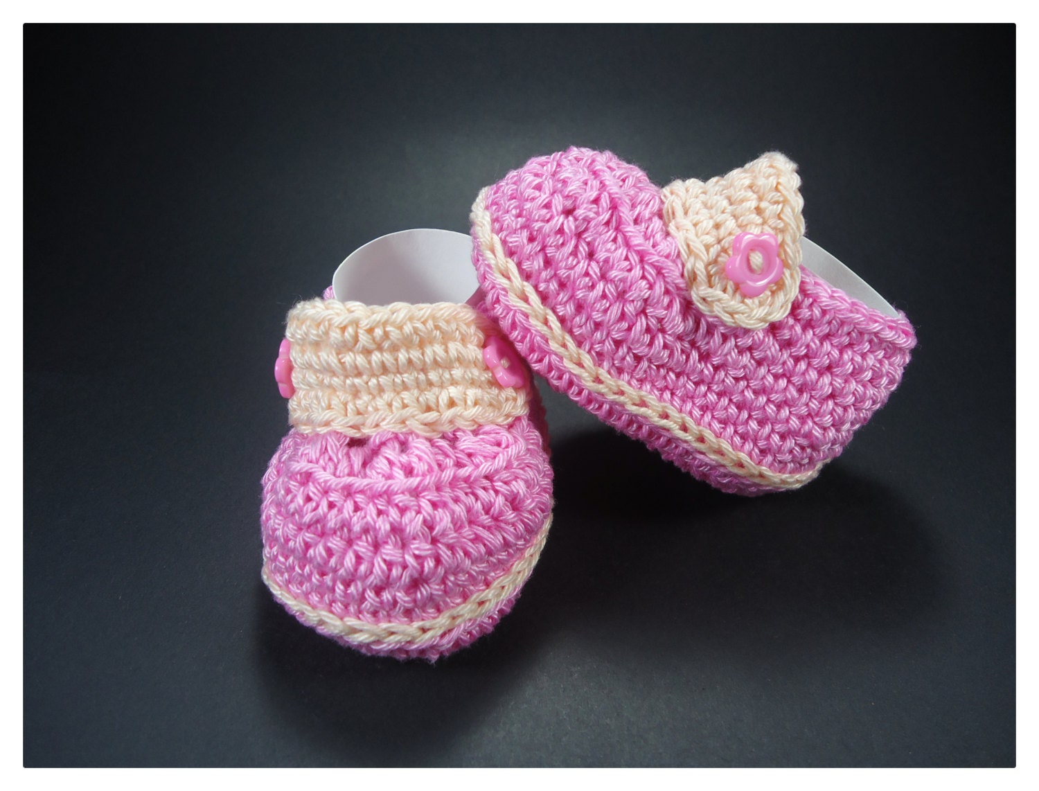 Crochet Baby Moccasins Baby shoes Custom baby shoes fashion