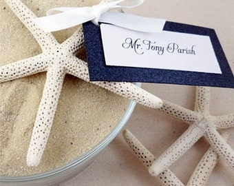 DIY Plain Starfish Place Card Holder or Decor Accent (Set of 25)