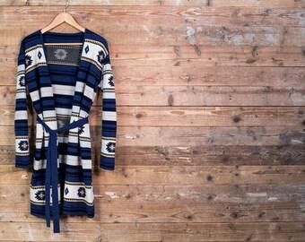 Navajo Cardigan - Native inspired pattern