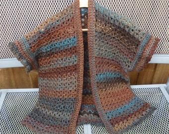 Ladies Chunky Custom Made Crochet Jacket