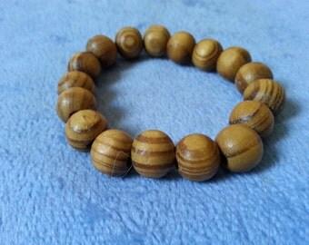 CLEARANCE: Wooden elasticated bracelet by SerenitybyGJ