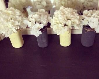 Chalkpainted Mason Jars - Personalize it!