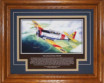 Texan Advanced Trainer 1938 to 1945 with history