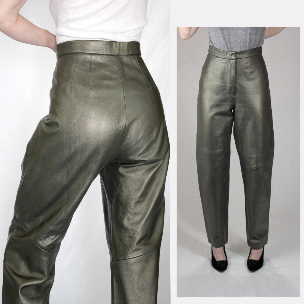 Olive Green Dress Pants Women