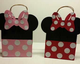 Minnie Mouse Favor Bag/ Goody Bag