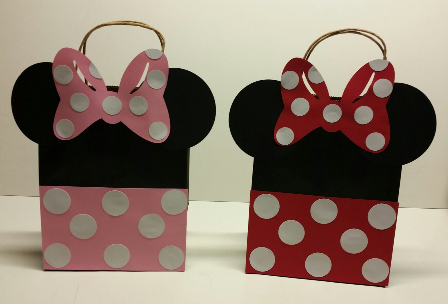 minnie mouse favor bag goody bag