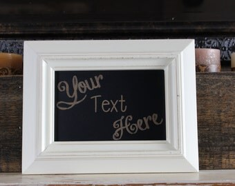 chalkboard, laser engraved,custom,personalized, customize,framed chalkboard, gift