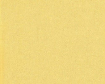 Yellow Fabric, Butter Yellow Broadcloth, 100 percent Cotton fabric, quilting fabric, fabric by the Yard, woven cotton