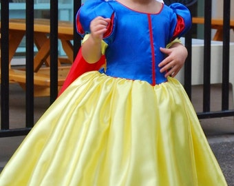 Snow White Costume dress,