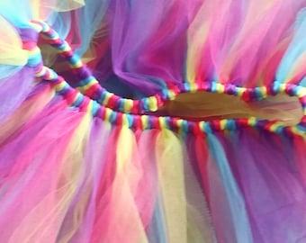 Fun Colorful Tutu Color Run Mud Run