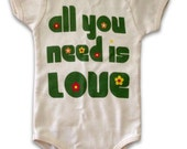 All You Need is Love Onesie- Unisex