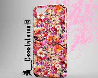 SAKURA Iphone case Watercolor Iphone 6 case Japanese Iphone 5 case Cherry Blossom Iphone 6 plus case Spring Iphone 5C case Iphone 5s case