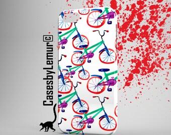 BICYCLE Iphone case Cute Iphone 6 case Bike Iphone 5 case Designer Iphone 6 plus case Watercolor Iphone 5C case Bright Iphone 5s case Cover