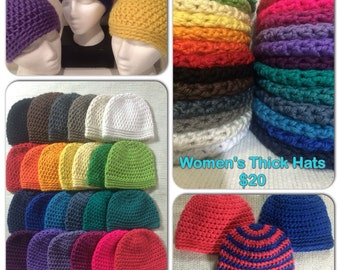 Women's Thick Hat