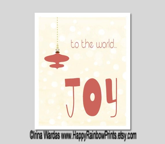 Items similar to clearance sale 60 off joy to the world for Christmas ornament sale clearance