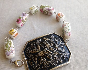 SALE Butterfly Shoe Clip Bracelet Spring Collection