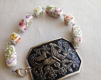 Butterfly Shoe Clip Bracelet Spring Collection