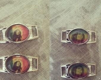 Bob Marley REGGAE shoe/paracord charms