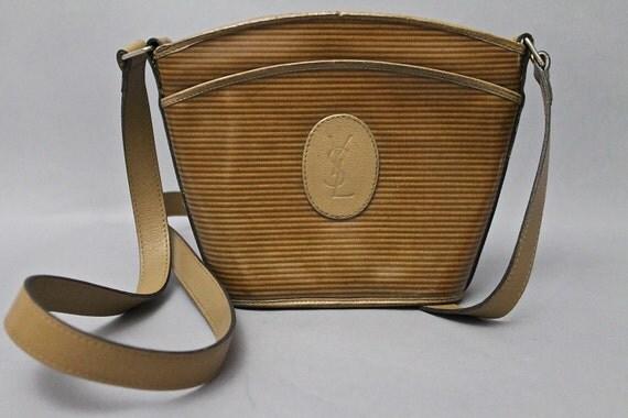 ysl logo bag