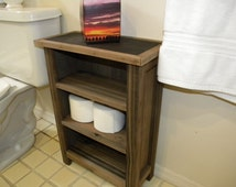 Lil' Rustic Mini Bathroom Cabinet with Shelves