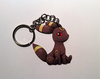 Umbreon Pokemon Keychain