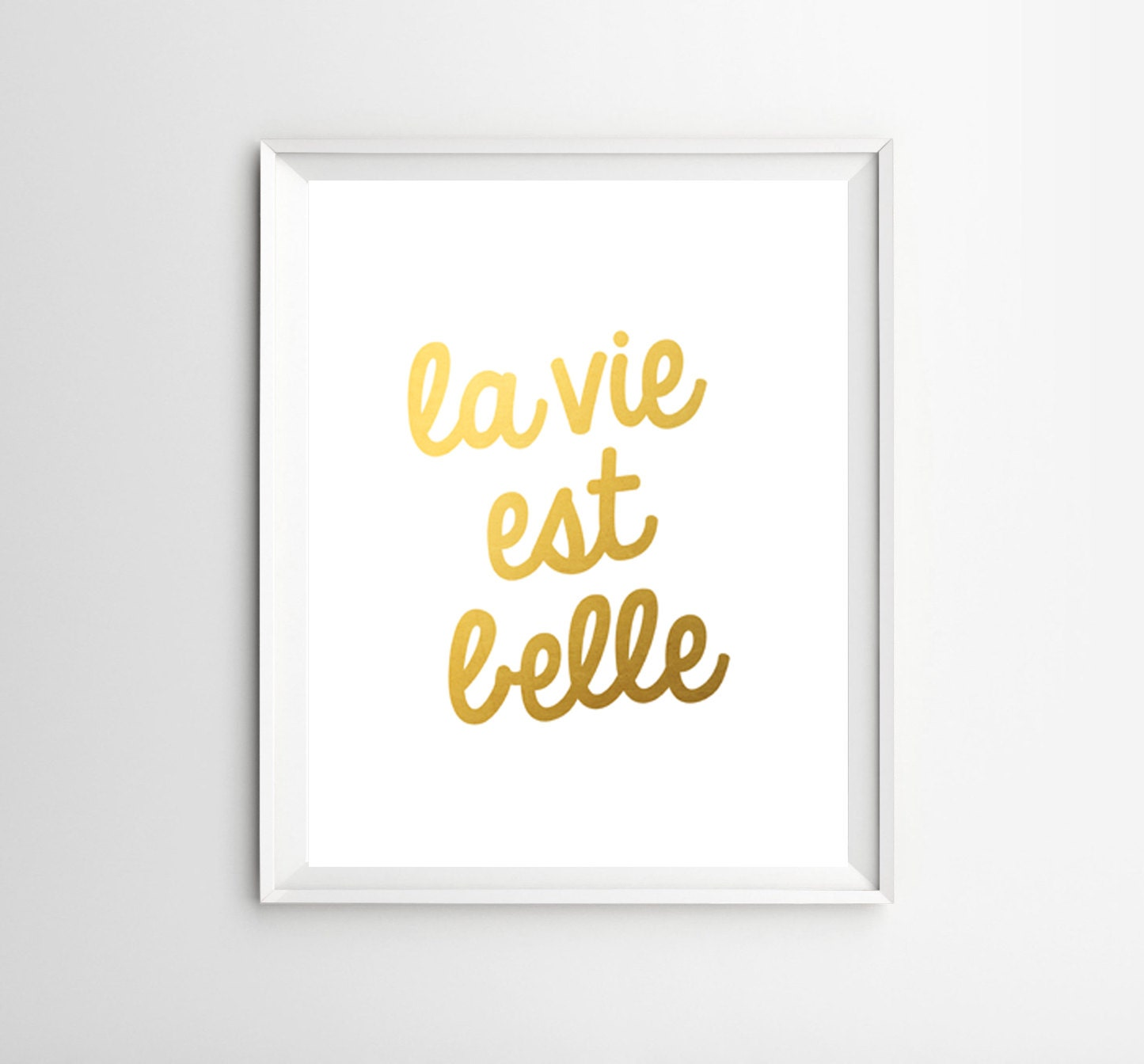 La Vie Est Belle Quotes | www.imgkid.com - The Image Kid