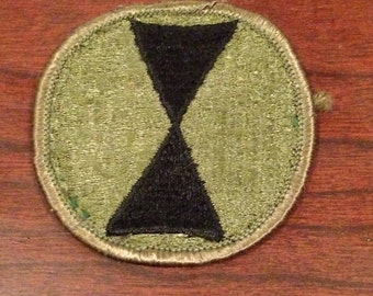 Vietnam 7th Infantry Patch