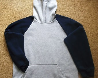 Super warm mens hoodie, in sizes S-4XL- made from quality Australian made fleecy