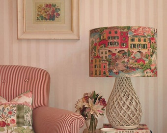 Australian Made Lampshade, Venetian Toile, Available in 2 Sizes and 2 Fittings, Made to Order 1-2 weeks